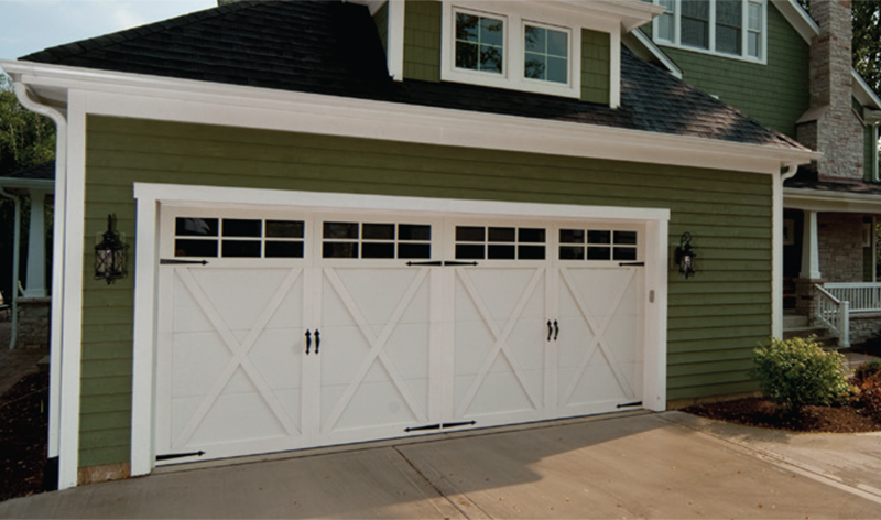 NH Haas American Tradition Serie Garage Doors