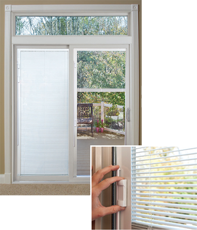 Amherst NH Harvey Patio Doors Door Series blinds