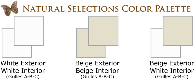 NH Vintage Window Series Natural Selections Color Palette Vinyl Replacement & New Construction Windows